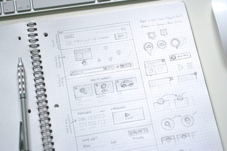 Microsite Wireframe