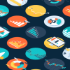 Digital Marketing Dashboards Systems Visualisations Infographic