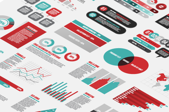 Infographic Sales Reports and Business Dashboards Image