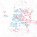 dot distribution map