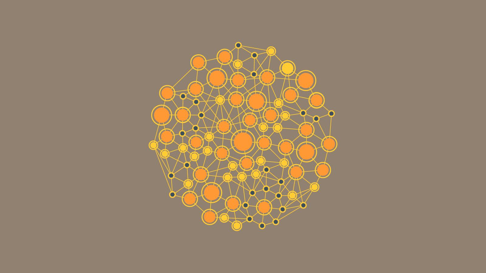 node link diagram