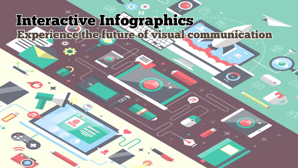 Interactive Infographics Designer Slide