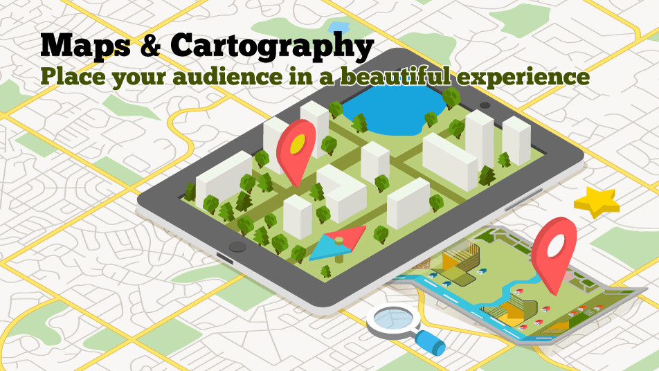 Maps Cartography Design Developer Infographic