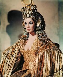 Elizabeth Taylor is Cleopatra