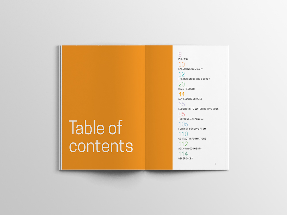 Graphic Design Table Examples