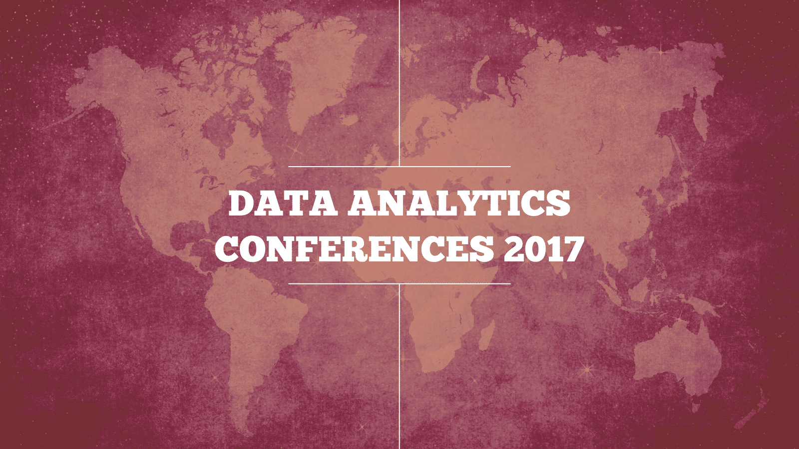 Analytics Conferences 2017