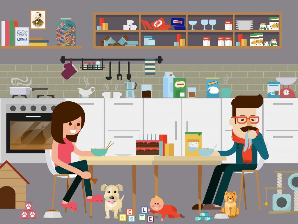 Nestle-illustration-creative-dashboard-design-interface-datalabs