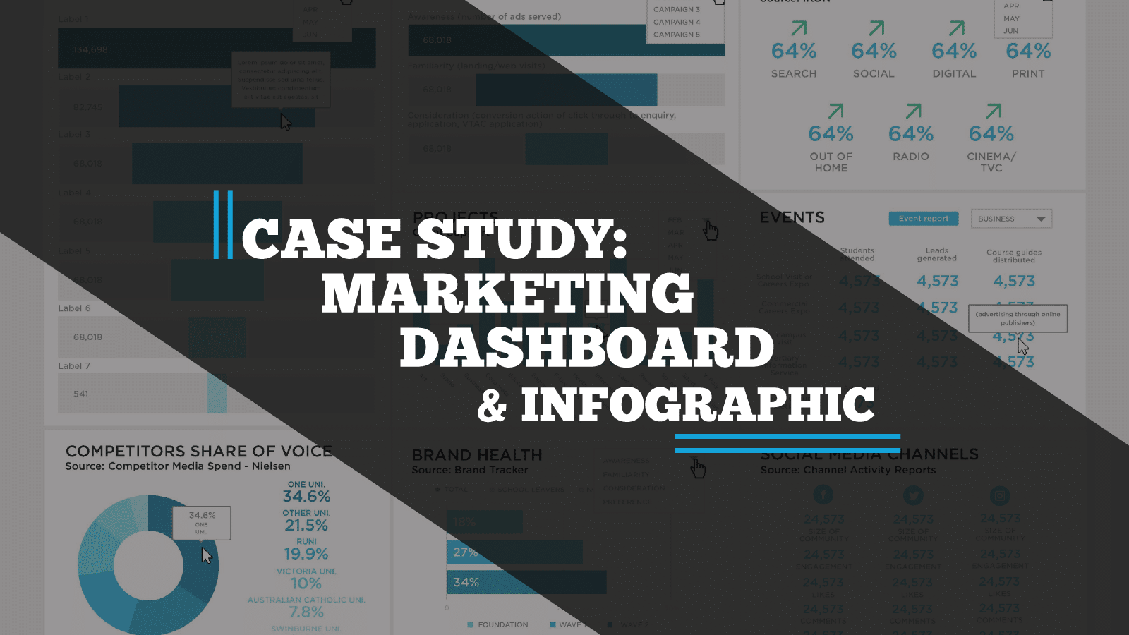 Case-study: Victoria University Dashboards & Infographic Reports