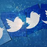 Who to follow on Twitter for data visualization? image - Twitter Logo and visualized data