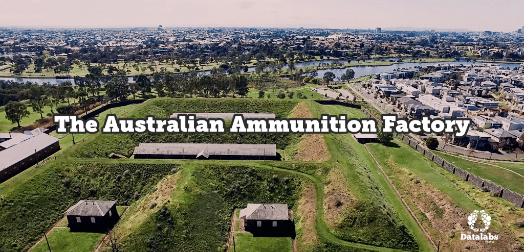 Cover image of the Australian Ammunition Factory building (left)