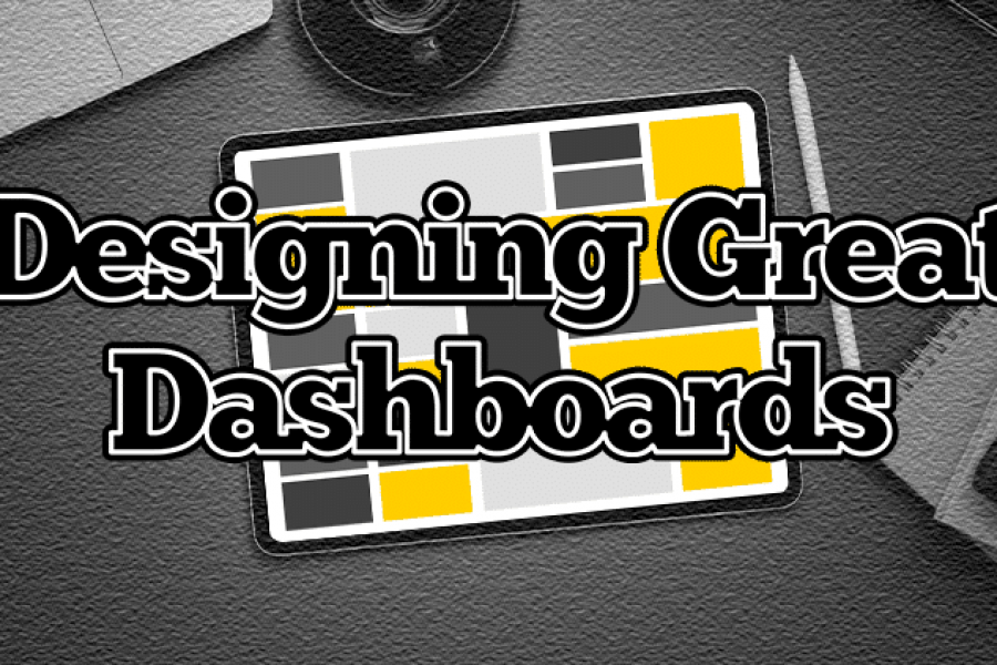 New Online Course for Designing Great Dashboards