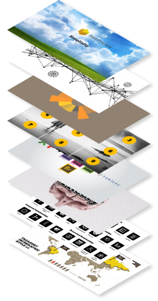Image of a Data Visualization Stack, Designed by Our Agency